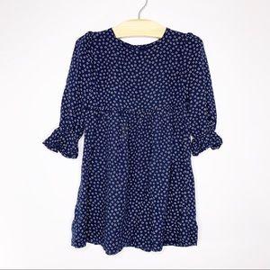 BABY GAP Girls A-Line Flower Dress 4T